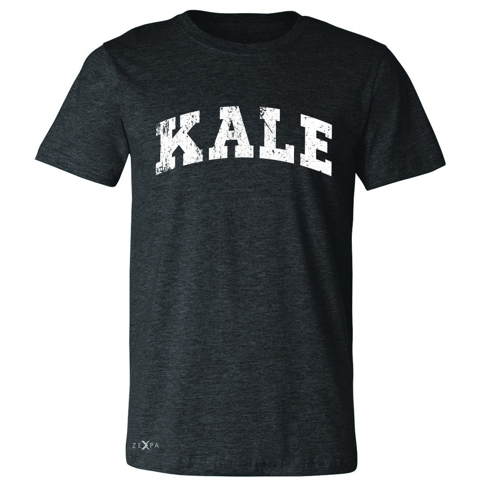 Kale W University Gift for Vegetarian Men's T-shirt Vegan Fun Tee - Zexpa Apparel - 2