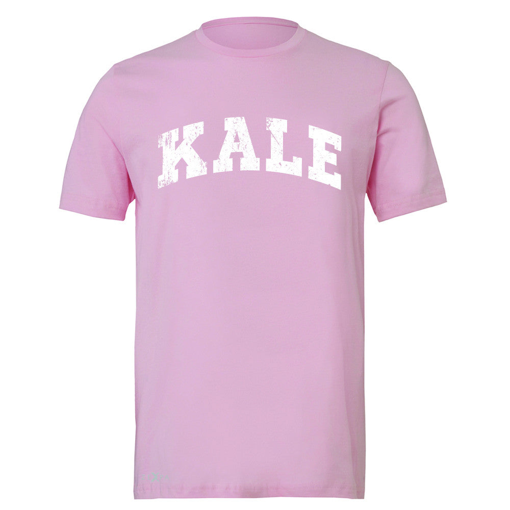 Kale W University Gift for Vegetarian Men's T-shirt Vegan Fun Tee - Zexpa Apparel - 4