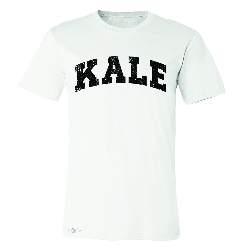 Kale W University Gift for Vegetarian Men's T-shirt Vegan Fun Tee - Zexpa Apparel - 6