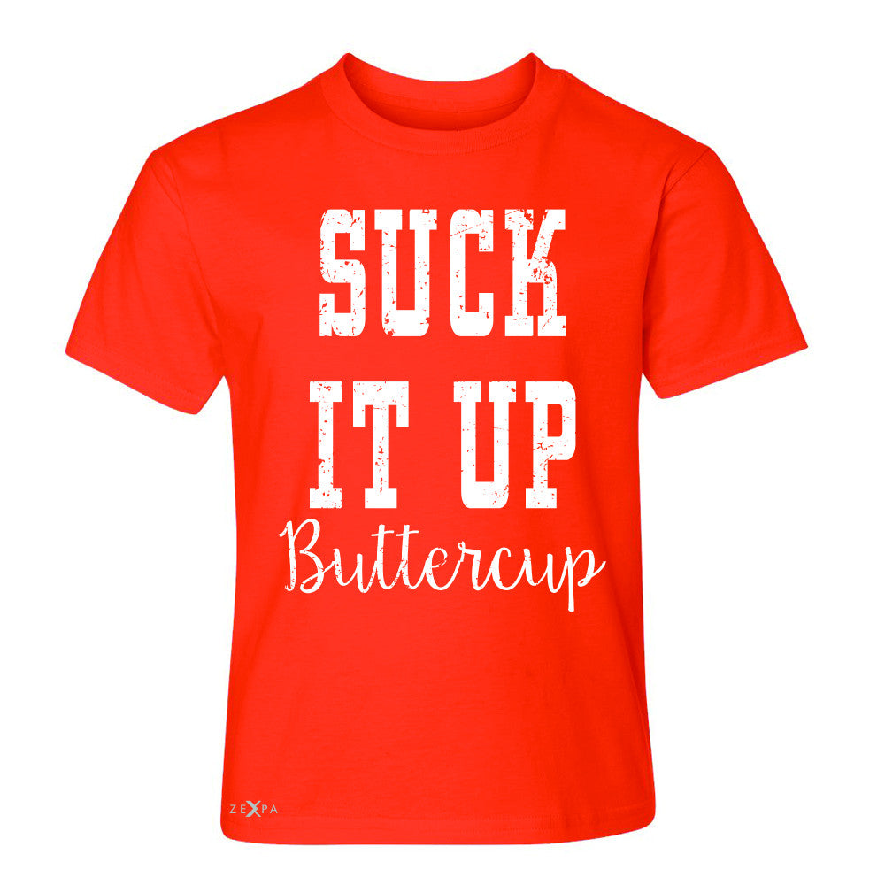 Suck It Up Butter Cool Youth T-shirt Saying Funny Tee - Zexpa Apparel - 2