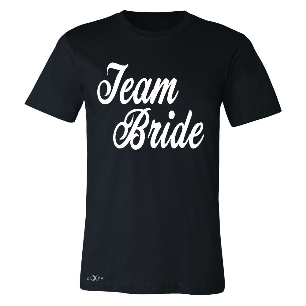 Team Bride - Friends and Family of Bride Men's T-shirt Wedding Tee - Zexpa Apparel - 1