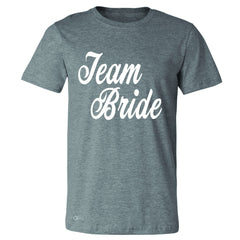 Team Bride - Friends and Family of Bride Men's T-shirt Wedding Tee - Zexpa Apparel - 3