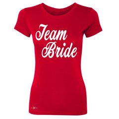 Team Bride - Friends and Family of Bride Women's T-shirt Wedding Tee - Zexpa Apparel - 4