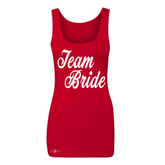 Team Bride - Friends and Family of Bride Women's Tank Top Wedding Sleeveless - Zexpa Apparel - 3