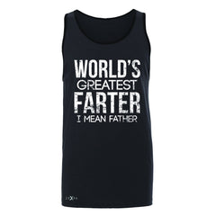 World's Best Farter I Mean Father D Men's Jersey Tank Father's Day Sleeveless - Zexpa Apparel - 3