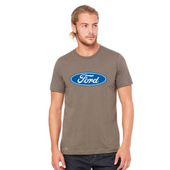 Ford Brand Logo Licensed Collective Fan Men's T-shirt Ford Tee - Zexpa Apparel