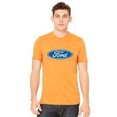 Ford Brand Logo Licensed Collective Fan Men's T-shirt Ford Tee - zexpaapparel - 7