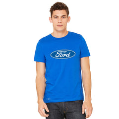 Built Tough Trucker Licensed Collective Men's T-shirt Ford Tee - Zexpa Apparel Halloween Christmas Shirts