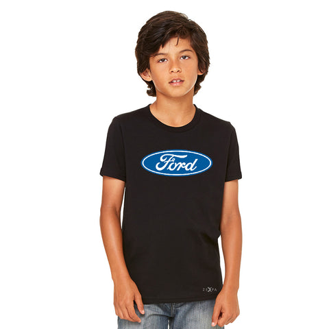Built Tough Trucker Licensed Collective Youth T-shirt Ford Tee - Zexpa Apparel Halloween Christmas Shirts
