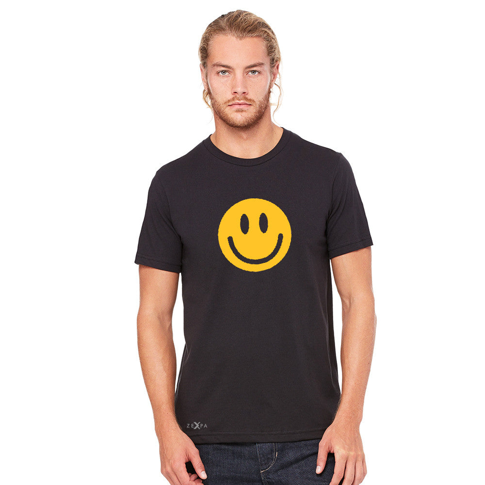 Funny Smiley Face Super Emoji Men's T-shirt Funny Tee - Zexpa Apparel