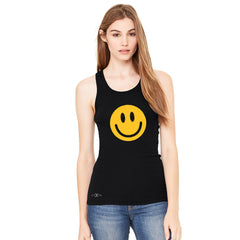 Funny Smiley Face Super Emoji Women's Racerback Funny Sleeveless - Zexpa Apparel