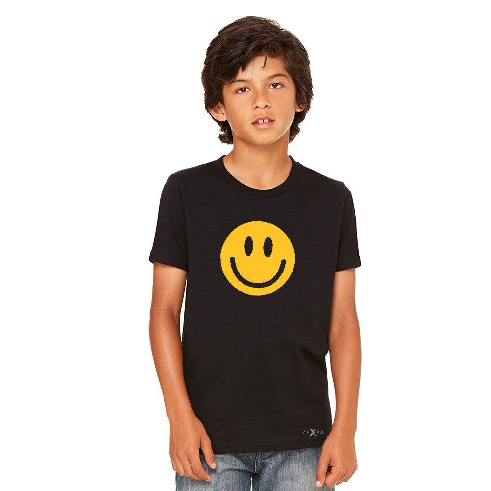Funny Smiley Face Super Emoji Youth T-shirt Funny Tee - Zexpa Apparel