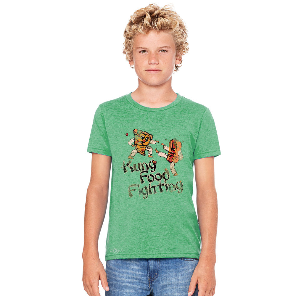 Kung Food Fighting Pizzas Kung Fu Youth T-shirt Funny Tee - Zexpa Apparel - 4