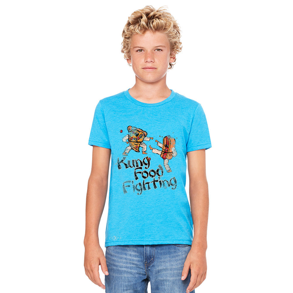 Kung Food Fighting Pizzas Kung Fu Youth T-shirt Funny Tee - Zexpa Apparel - 5