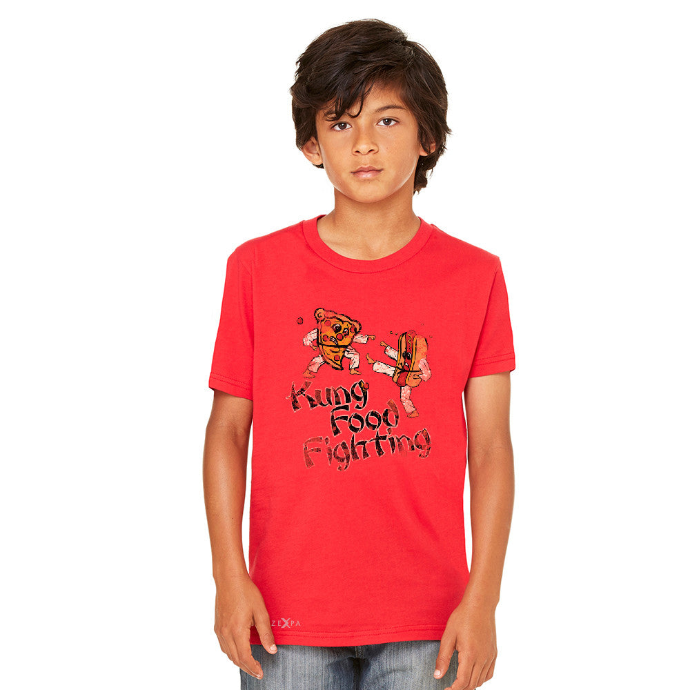 Kung Food Fighting Pizzas Kung Fu Youth T-shirt Funny Tee - Zexpa Apparel - 6