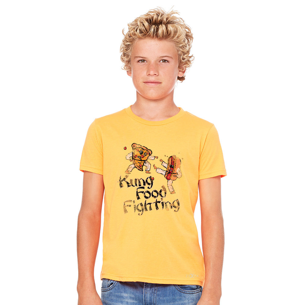 Kung Food Fighting Pizzas Kung Fu Youth T-shirt Funny Tee - Zexpa Apparel - 8