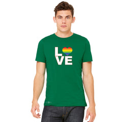 Love is Love - Love Wins Rainbow Men's T-shirt Pride LGBT Tee - zexpaapparel - 5