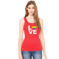 Love is Love - Love Wins Rainbow Women's Tank Top Pride LGBT Sleeveless - Zexpa Apparel