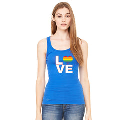 Love is Love - Love Wins Rainbow Women's Tank Top Pride LGBT Sleeveless - zexpaapparel - 5