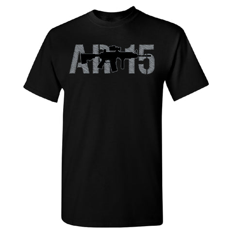 2nd Amendment AR-15 Men's T-Shirt