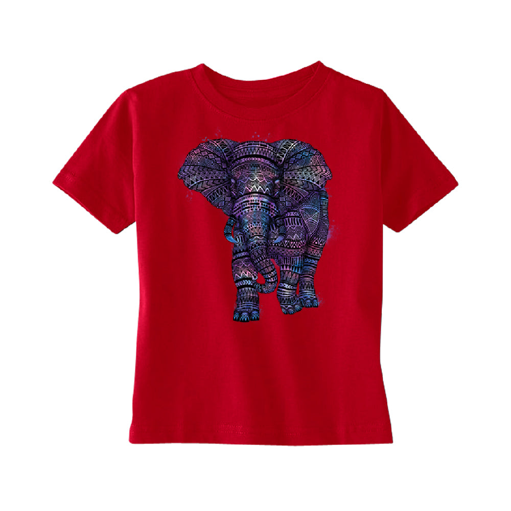 Mandala Zentangle Pastel Elephant TODDLER T-Shirt