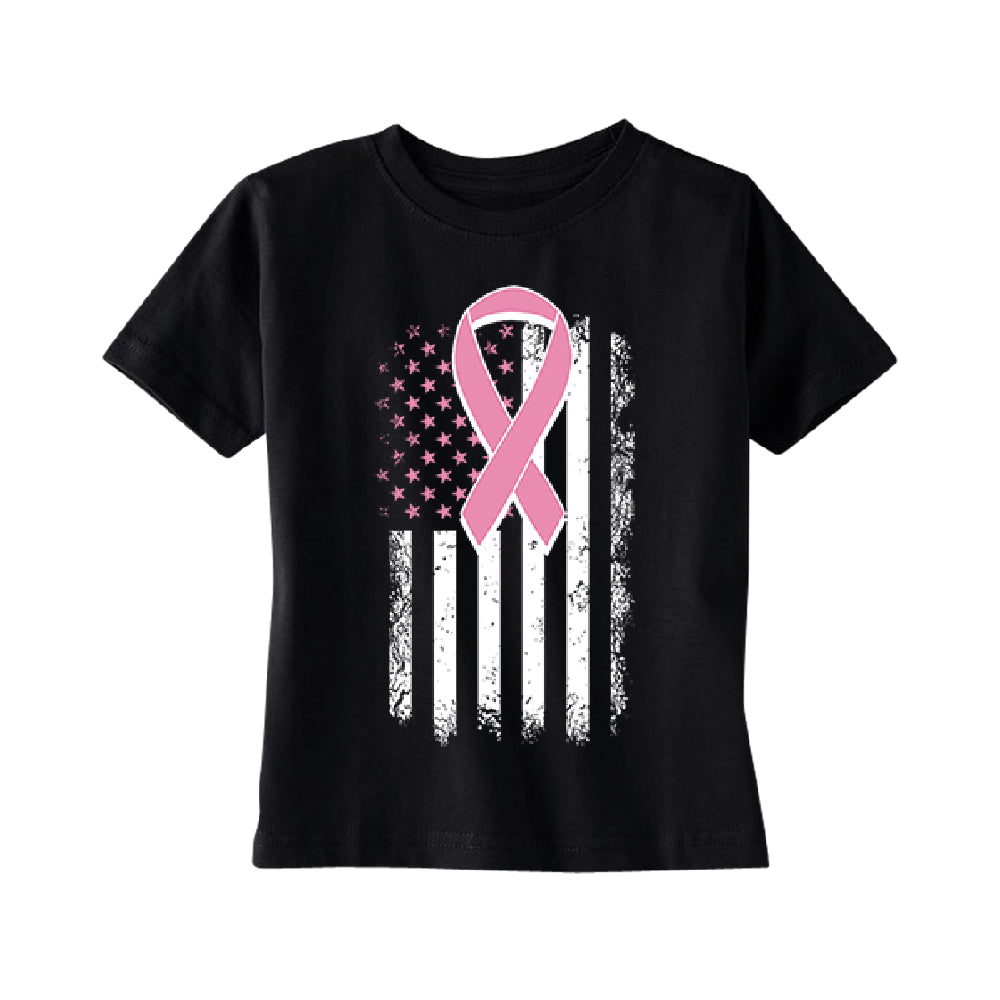 Pink Vintage American Flag TODDLER T-Shirt