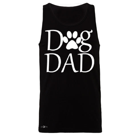 Dog Dad Men's Jersey Tank Father's Day Dog Owner Cool Sleeveless - Zexpa Apparel - 1