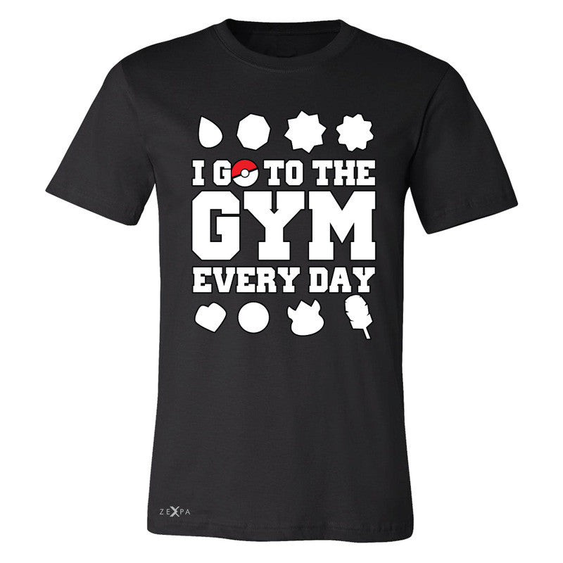 I Go To The Gym Every Day Men's T-shirt Poke Shirt Fan Tee - Zexpa Apparel - 1