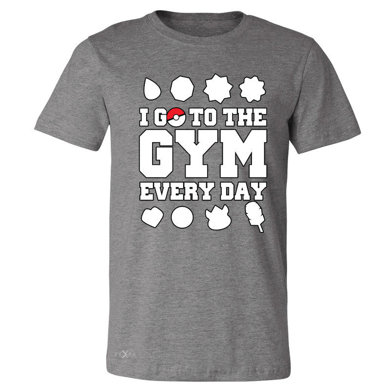 I Go To The Gym Every Day Men's T-shirt Poke Shirt Fan Tee - Zexpa Apparel - 3