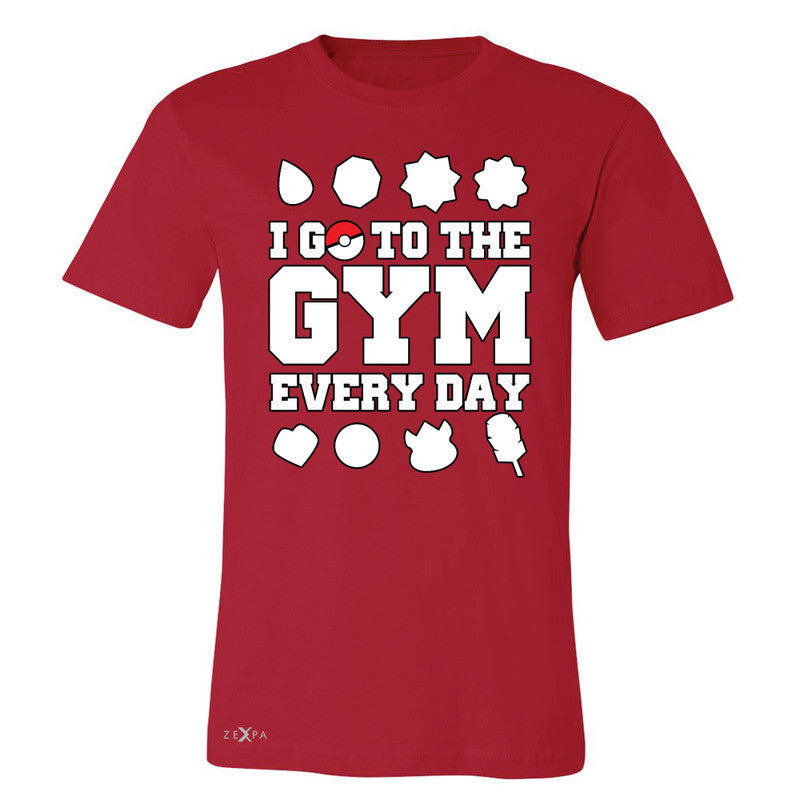 I Go To The Gym Every Day Men's T-shirt Poke Shirt Fan Tee - Zexpa Apparel - 5