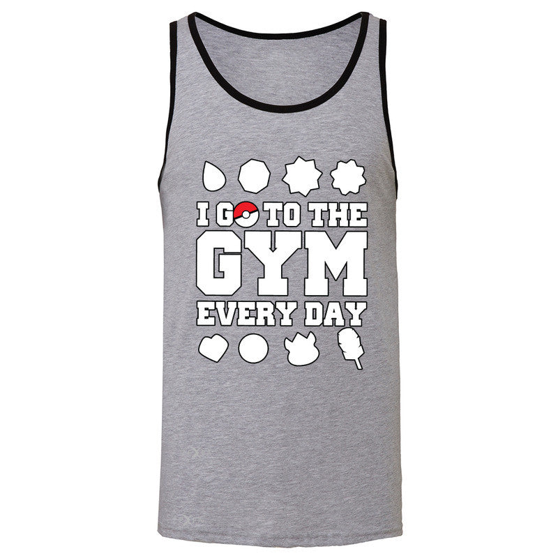 I Go To The Gym Every Day Men's Jersey Tank Poke Shirt Fan Sleeveless - Zexpa Apparel - 2
