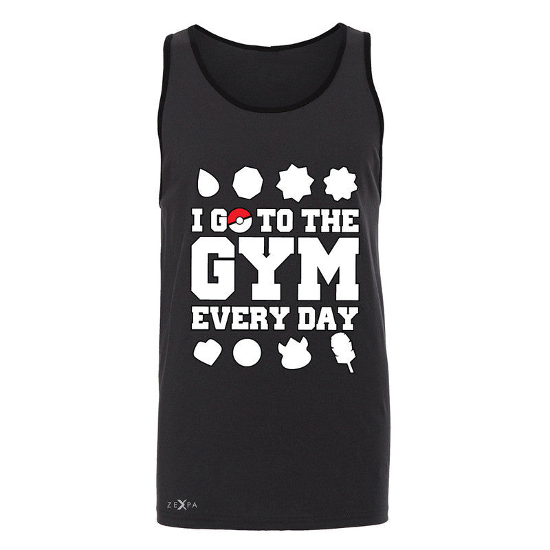 I Go To The Gym Every Day Men's Jersey Tank Poke Shirt Fan Sleeveless - Zexpa Apparel - 3