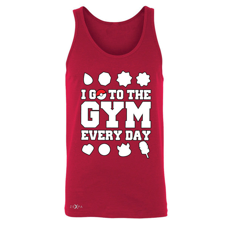 I Go To The Gym Every Day Men's Jersey Tank Poke Shirt Fan Sleeveless - Zexpa Apparel - 4