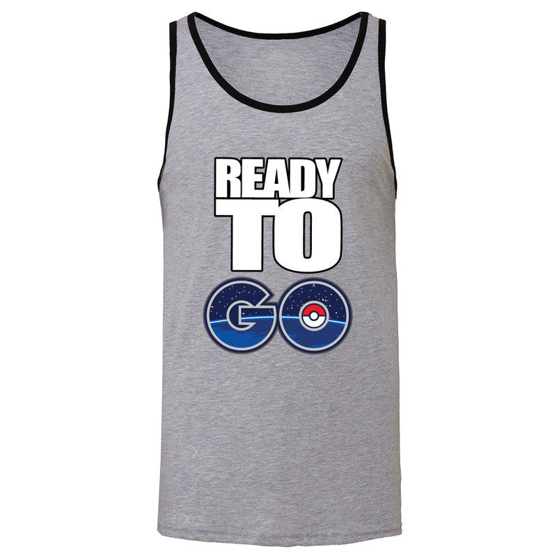Ready to Go Men's Jersey Tank Poke Shirt Fan Sleeveless - Zexpa Apparel - 2