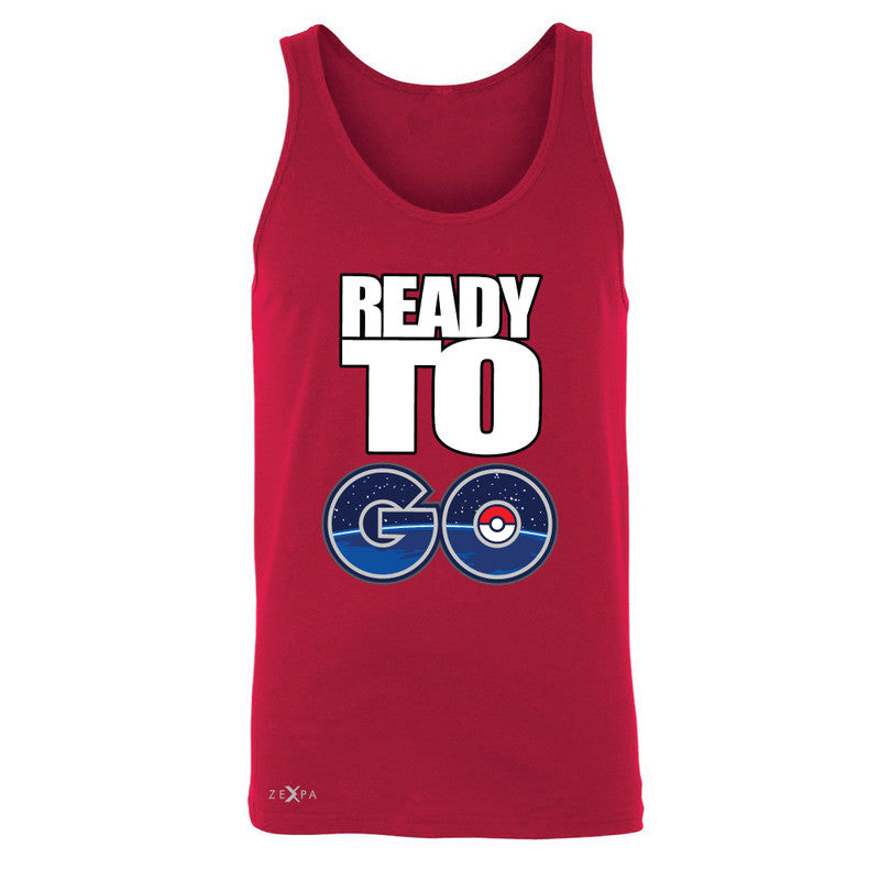 Ready to Go Men's Jersey Tank Poke Shirt Fan Sleeveless - Zexpa Apparel - 4