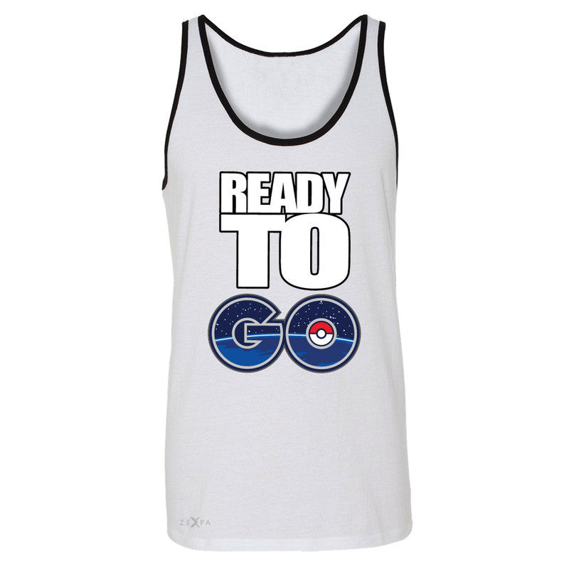 Ready to Go Men's Jersey Tank Poke Shirt Fan Sleeveless - Zexpa Apparel - 6