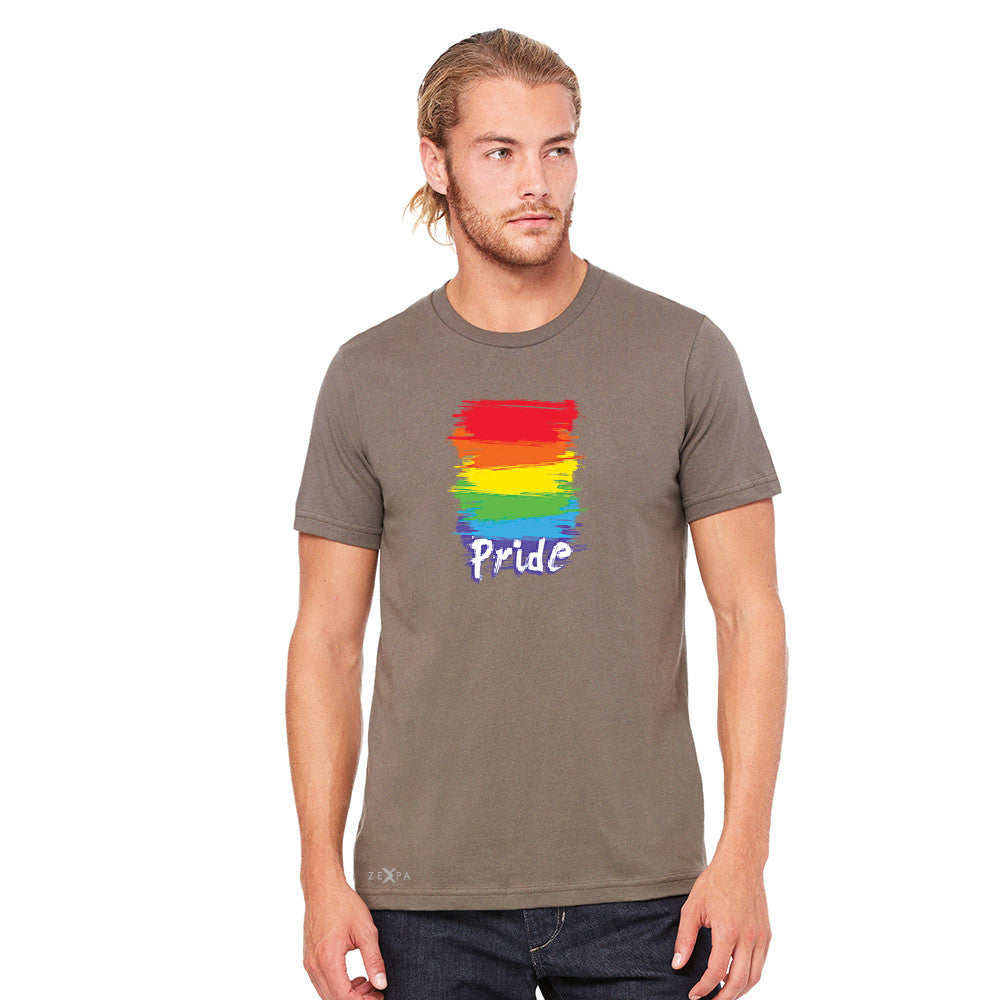 Gay Pride Rainbow Color Paint Cutest Men's T-shirt Pride LGBT Tee - Zexpa Apparel