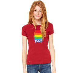 Gay Pride Rainbow Color Paint Cutest Women's T-shirt Pride LGBT Tee - Zexpa Apparel - 7