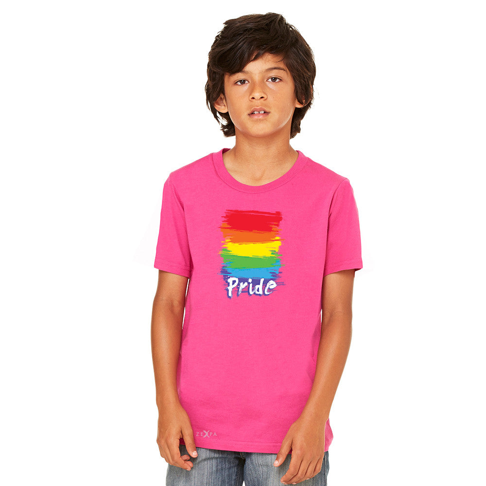 Gay Pride Rainbow Color Paint Cutest Youth T-shirt Pride LGBT Tee - Zexpa Apparel