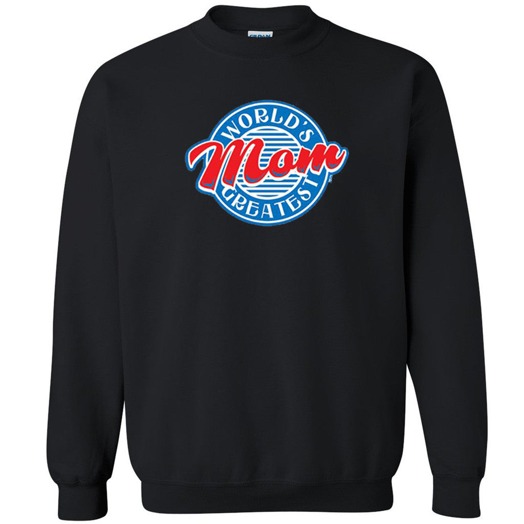 World's Greatest Mom Unisex Crewneck Mother's Das Xmas Gift Sweatshirt - Zexpa Apparel