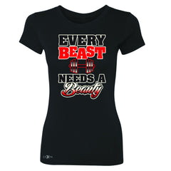 Every Beast Needs A Beauty Valentines Day Women's T-shirt Couple Tee - Zexpa Apparel