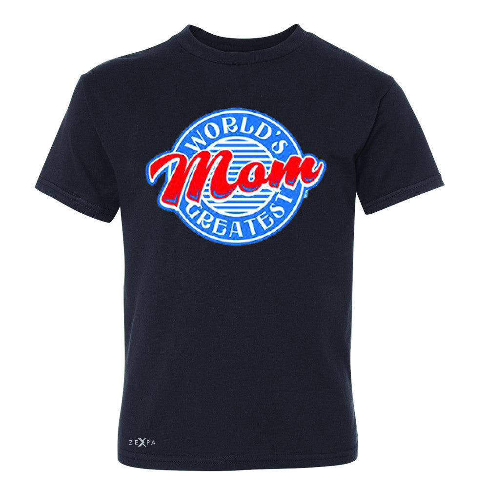 World's Greatest Mom - For Your Mom Youth T-shirt Mother's Day Tee - Zexpa Apparel - 1