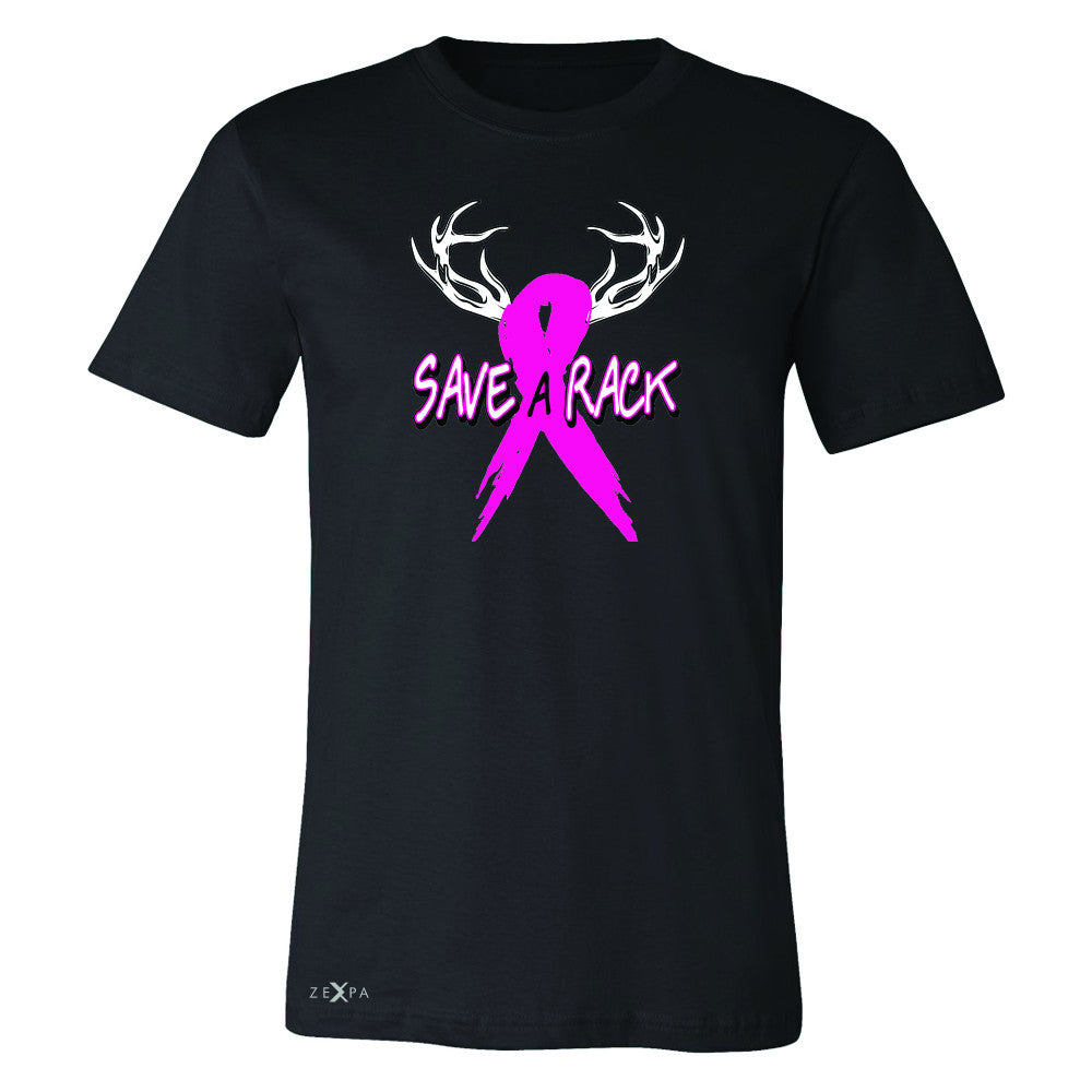 Save A Rack Breast Cancer October Men's T-shirt Awareness Tee - Zexpa Apparel - 1