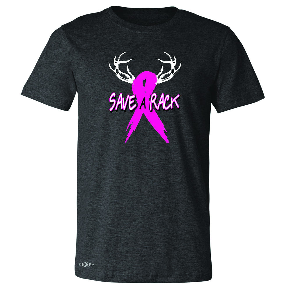 Save A Rack Breast Cancer October Men's T-shirt Awareness Tee - Zexpa Apparel - 2