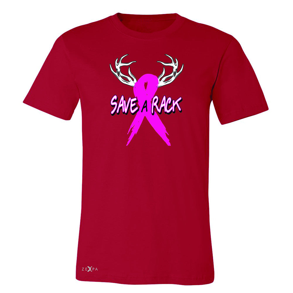 Save A Rack Breast Cancer October Men's T-shirt Awareness Tee - Zexpa Apparel - 5