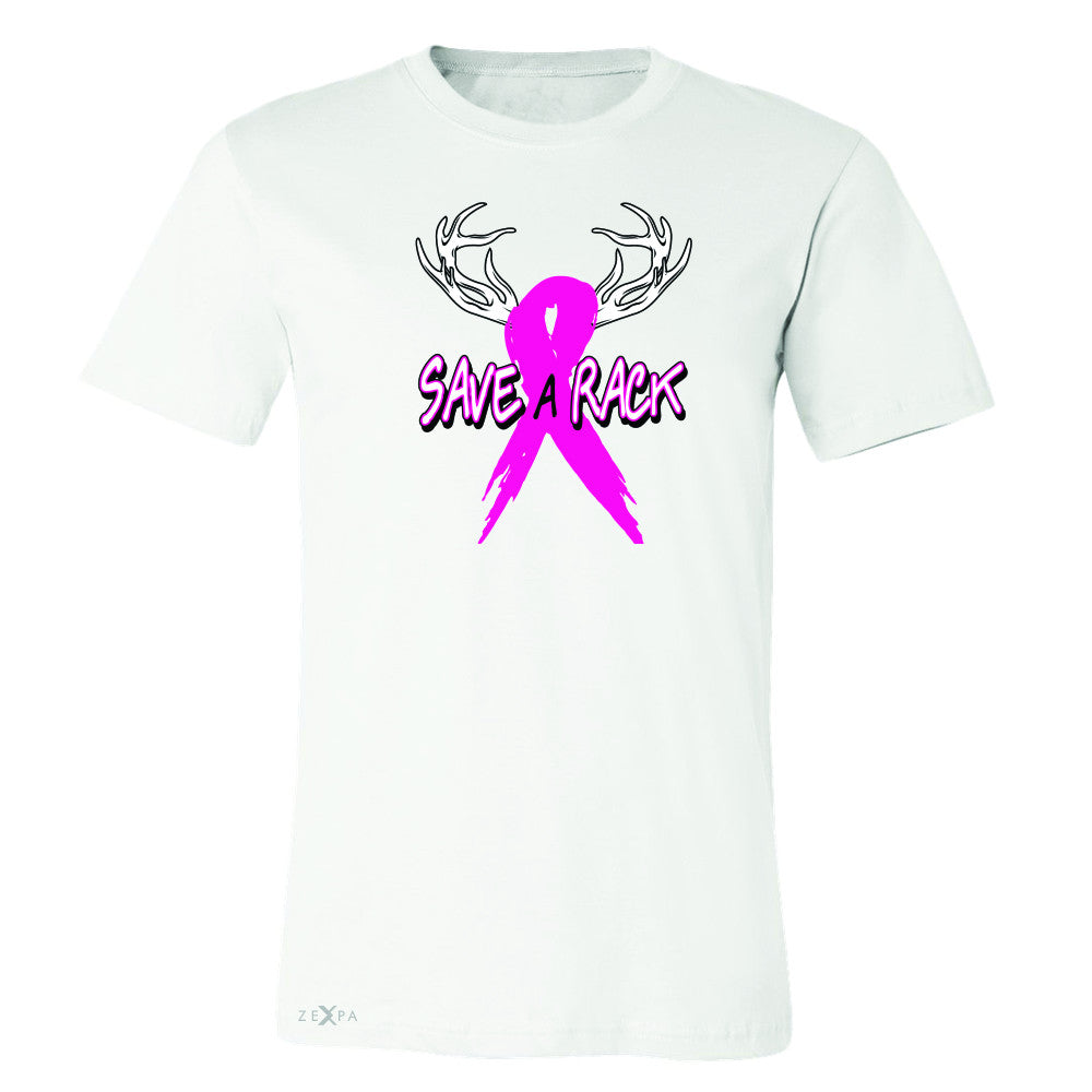 Save A Rack Breast Cancer October Men's T-shirt Awareness Tee - Zexpa Apparel - 6