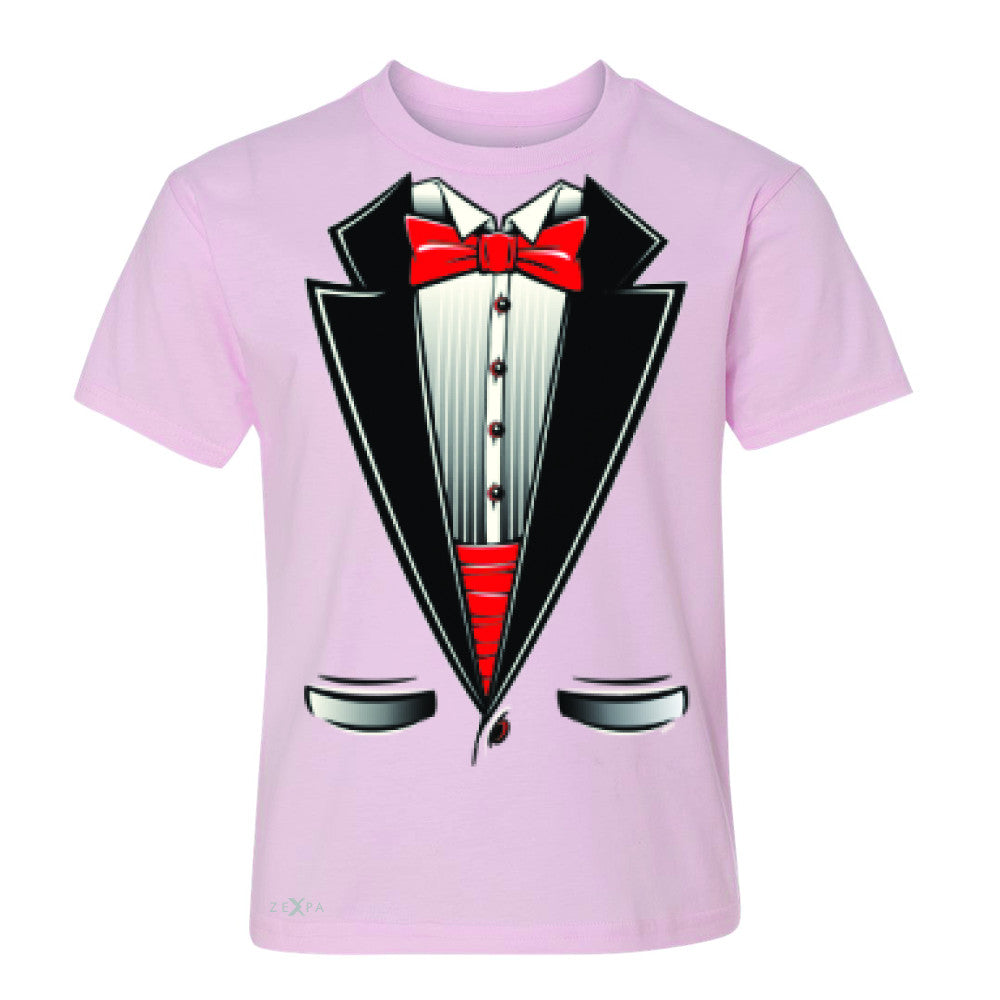 Smokin Christmas Tuxedo Cool Youth T-shirt Halloween Costume Tee - Zexpa Apparel - 3