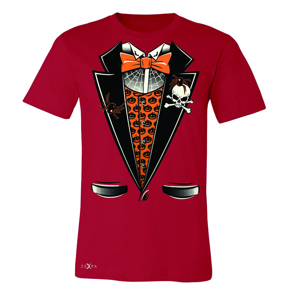Halloween Vampire Smokin Tuxedo Men's T-shirt Cool Costume Tee - Zexpa Apparel - 5