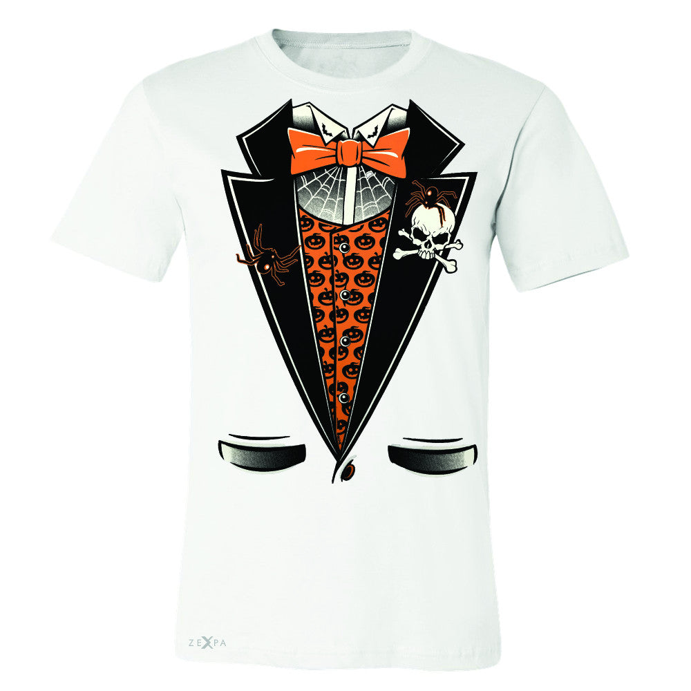 Halloween Vampire Smokin Tuxedo Men's T-shirt Cool Costume Tee - Zexpa Apparel - 6