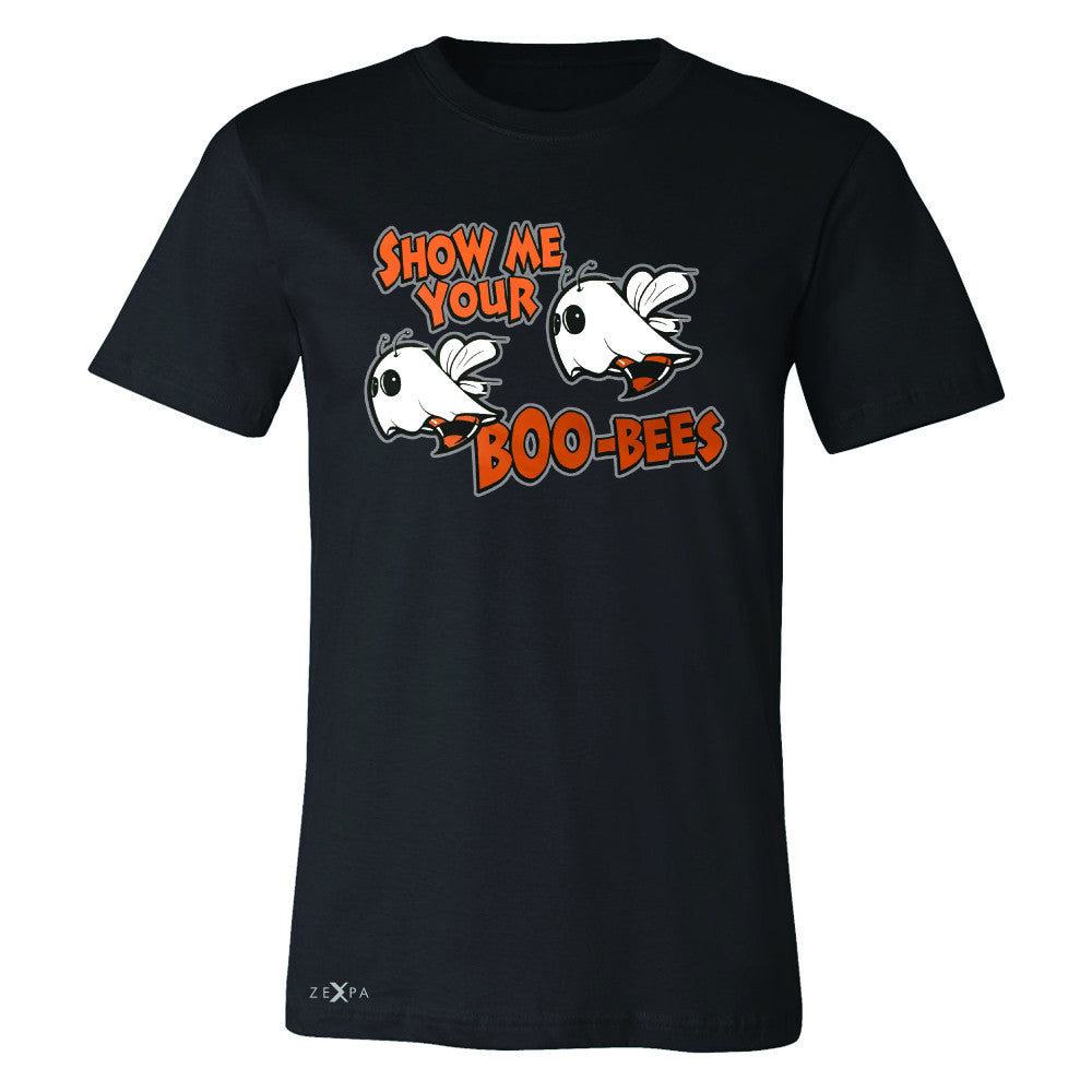 Show Me Your Boo-Bees Ghost  Men's T-shirt Halloween Costume Tee - Zexpa Apparel - 1